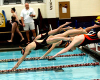 THS Swimming vs Virginia High 1/16/14