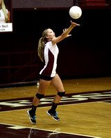 THS Volleyball vs Central 9/4/12