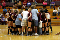 THS Volleyball vs South 9/18/12