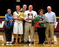 THS Senior Night Winter Sports 2012-13