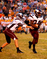 THS Football vs Central 9/20/13