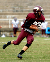 THS JV Football vs DB 9/16/13