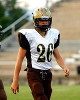 THS JV Football vs Crockett 9/9/13