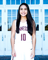 THS JV Girls Basketball 2017/18 Team and Individual Photos