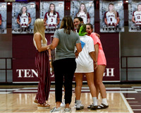 THS Girls Volleyball Senior Night 9/24/19