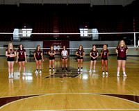 THS Freshman Volleyball Team and Individuals 2020