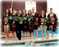 THS Swimming Senior Night 2013-14