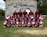 Mighty Mite 1 and 2 Cheer 2012