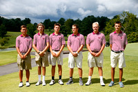 THS Boys Golf Team and Individuals 2015