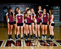 THS Volleyball 2016 Team and Individual Photos