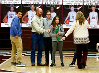 THS Winter Sports Senior Night 2/4/17