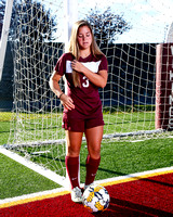 THS Girls Soccer 2017 Team and Individual Photos