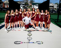 THS Girls Tennis 2017
