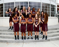 THS Girls Basketball Team and Individuals 2016-17