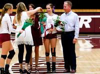 THS Volleyball Senior Night 2016 Photos