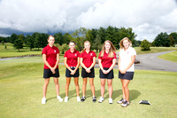 THS Girls Golf Team and Individuals 2015